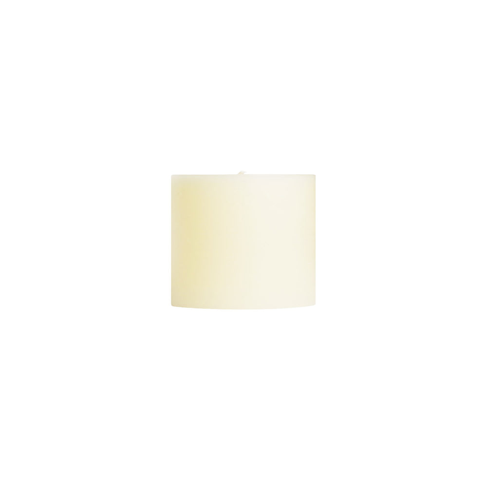 "3x3"" French Vanilla Scented Pillar Candle - Dripless Pillar Candles - Mole Hollow Candles"