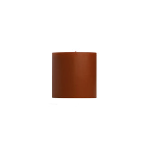 "Load image into Gallery viewer, 3x3"" Pumpkin Unscented Pillar Candle - Dripless Pillar Candles - Mole Hollow Candles"