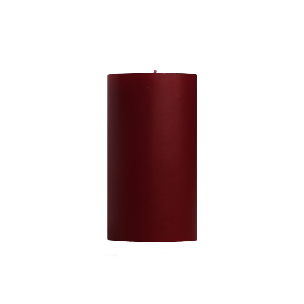 "3x6"" Cape Cod Cranberry Scented Pillar Candle - Dripless Pillar Candles - Mole Hollow Candles"