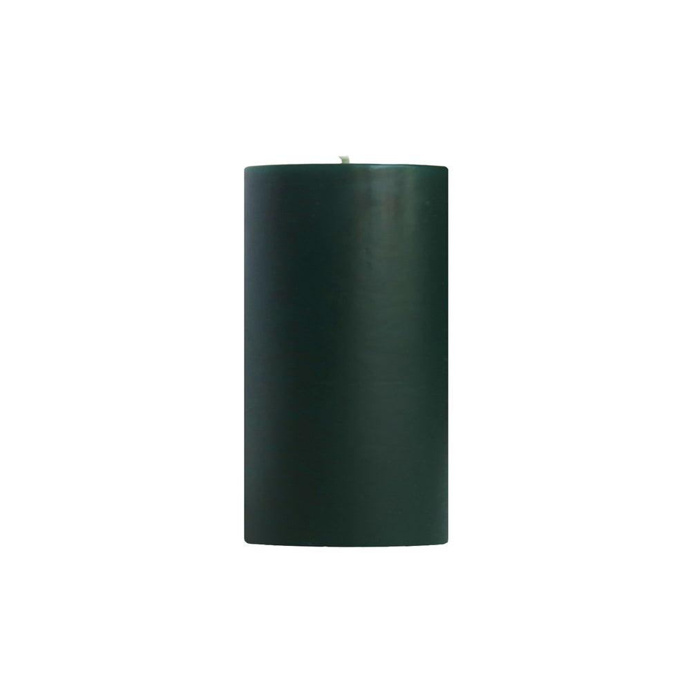 "3x6"" Northern Pine Scented Pillar Candle - Dripless Pillar Candles - Mole Hollow Candles"