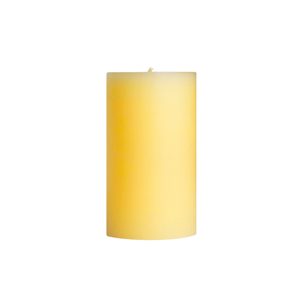 "3x6"" Rain Scented Pillar Candle - Dripless Pillar Candles - Mole Hollow Candles"