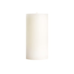 "3x6"" Unscented Pillar Candles"
