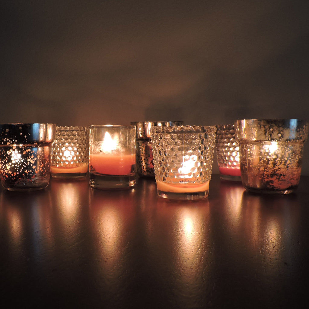 Fall Votive Candles - Scented Votive Candles - Unscented Votive Candles - Mole Hollow Candles