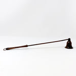 Long Brown Candle Snuffer