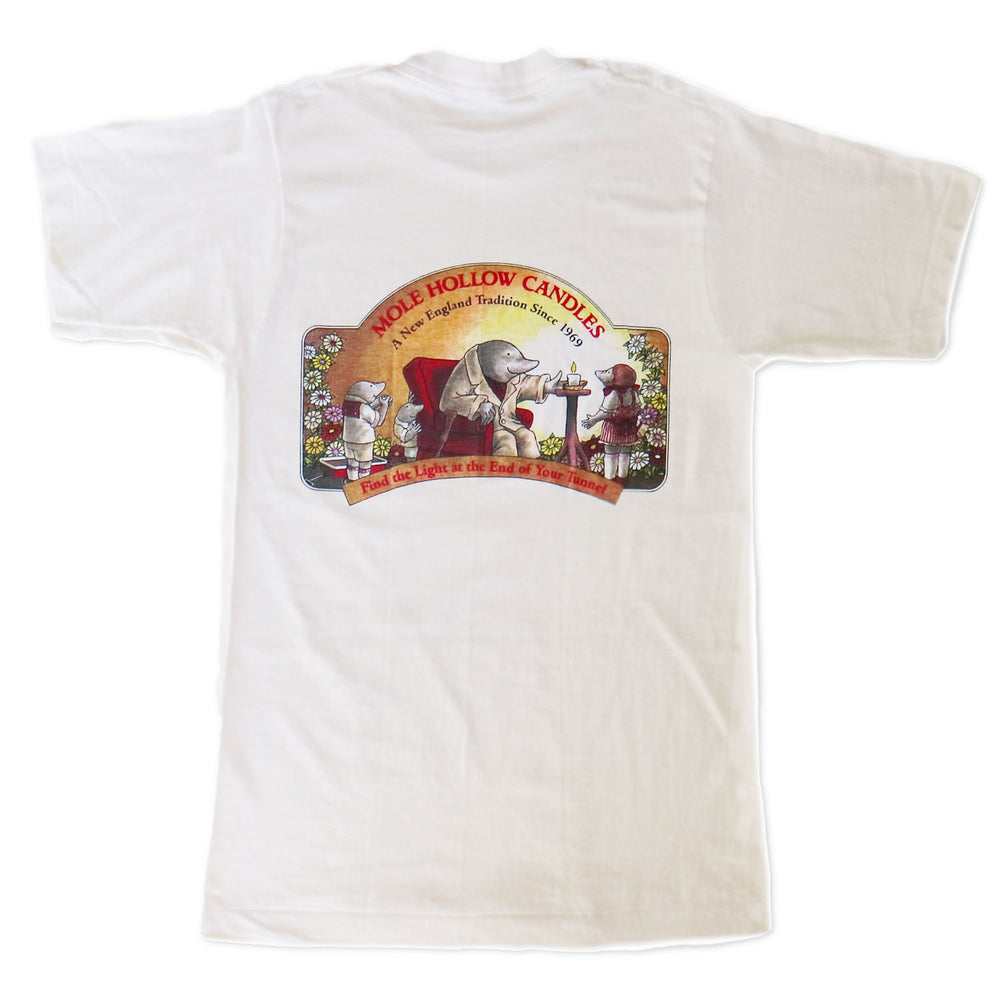 Vintage Mole Hollow Candles Tee Shirt