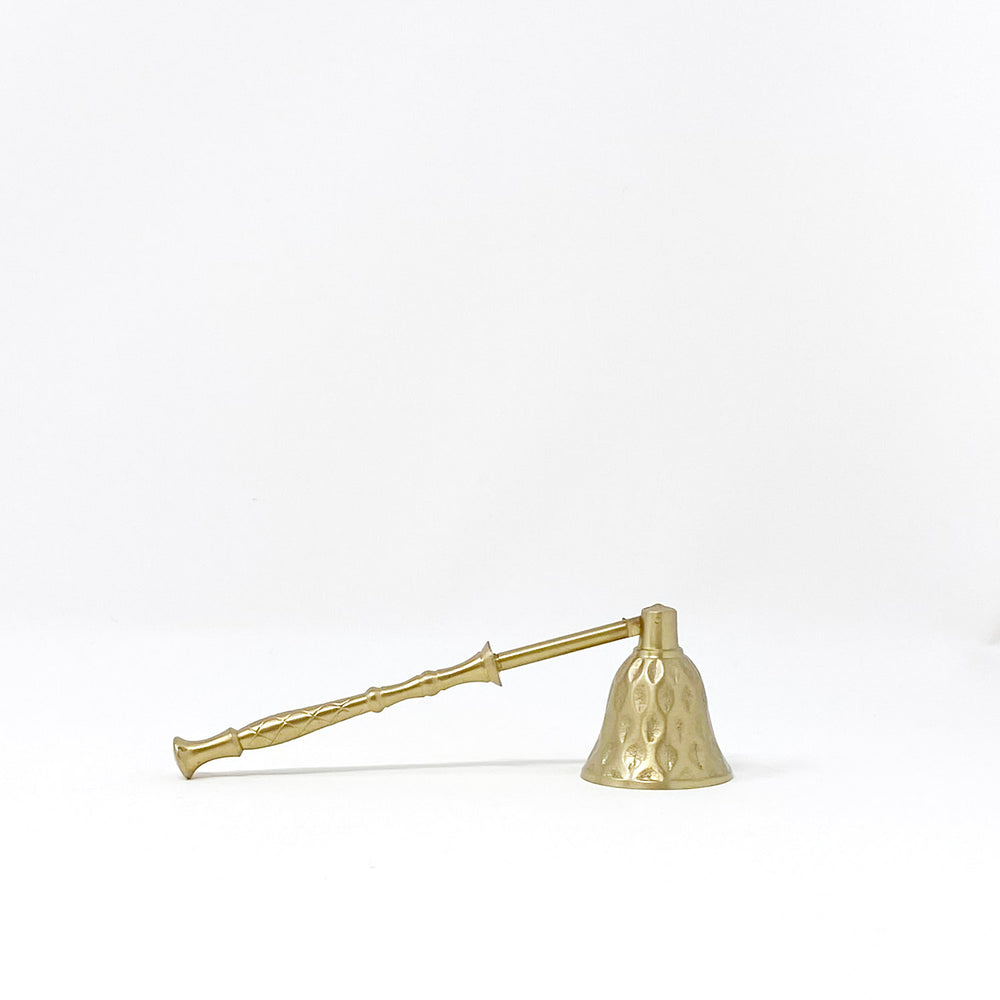 Small Gold Candle Snuffer