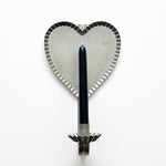 Tin Heart Candle Sconce