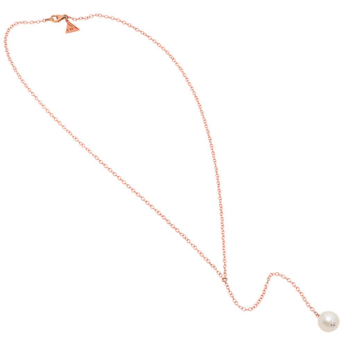 Single Freshwater Pearl Drop Necklace - VictoriaSix.com
