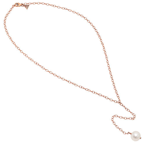 Round Freshwater Pearl Lariat Necklace - VictoriaSix.com