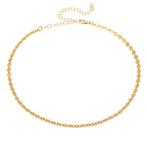 Classic Chain Choker Necklace