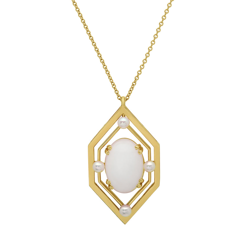 Art Deco Pendant Necklace - VictoriaSix.com
