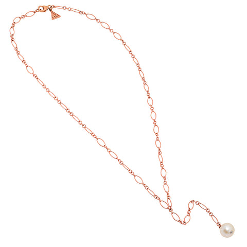 Large Freshwater Pearl Long Necklace