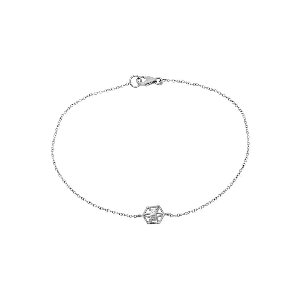 Diamond Travel Charm Bracelet - VictoriaSix.com