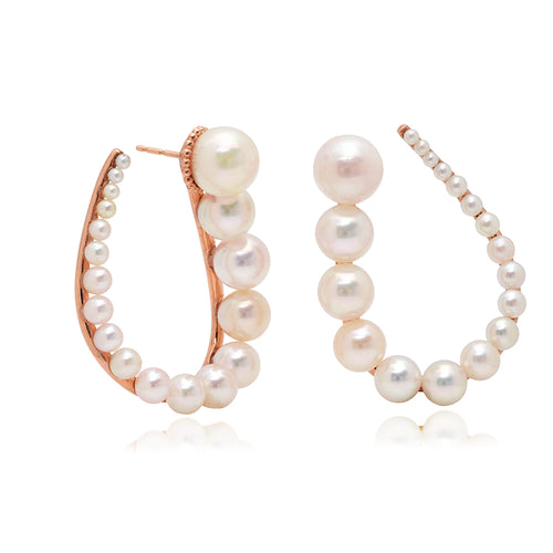Akoya Pearl Earrings - VictoriaSix.com