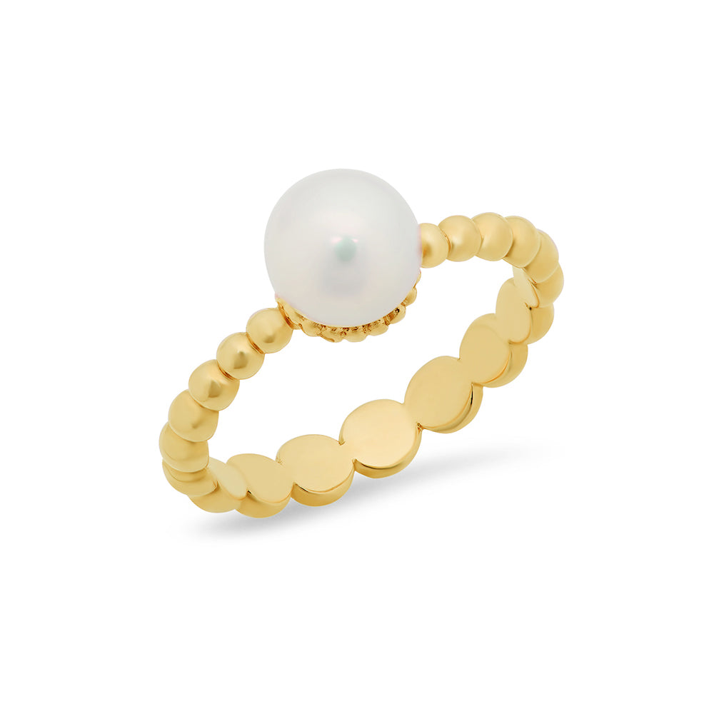 Pearl Stackable Ring - VictoriaSix.com