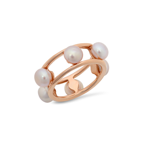 Pink Freshwater Pearl Ring - VictoriaSix.com