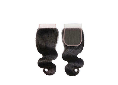 CLOSURES BODY WAVE 4X4  BUNDLES/ HAIR