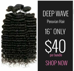 "DEEP WAVE 16"" BUNDLES"