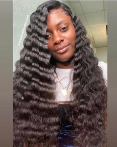 2. PERUVIAN DEEP WAVE  BUNDLES/ HAIR