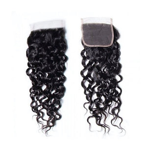 CLOSURES WATER WAVE 4X4  BUNDLES/ HAIR