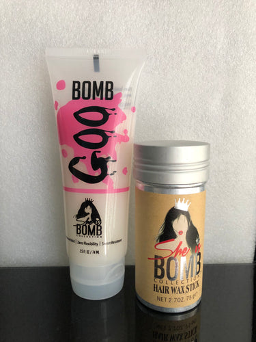 BOMB GOO AND BLENDING WAX