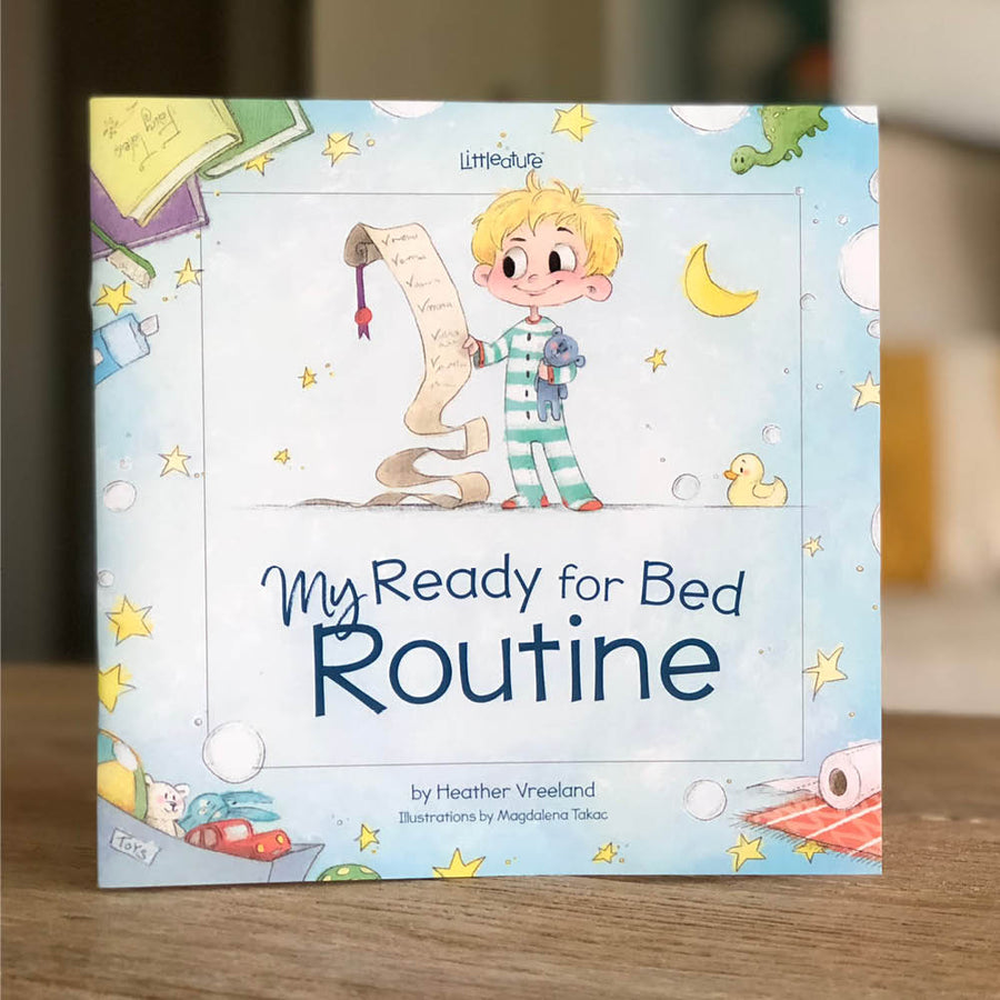 toddler book about bedtime routine
