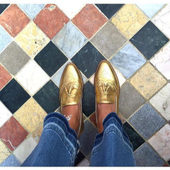 Hearty Loafer Gold