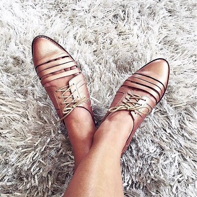 Shy Loafer Rose Gold