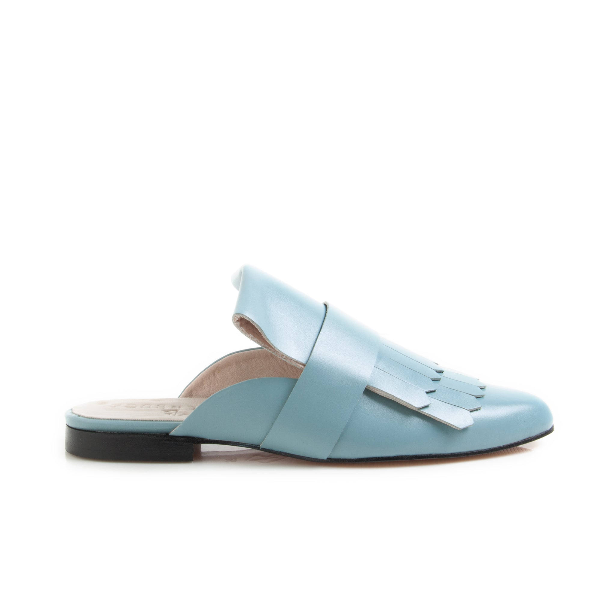 Fancy Mule Baby Blue