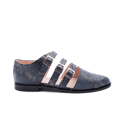 Breezy Loafer Blue Serpent