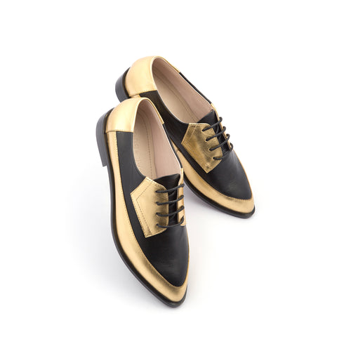 Light Derby Black & Gold