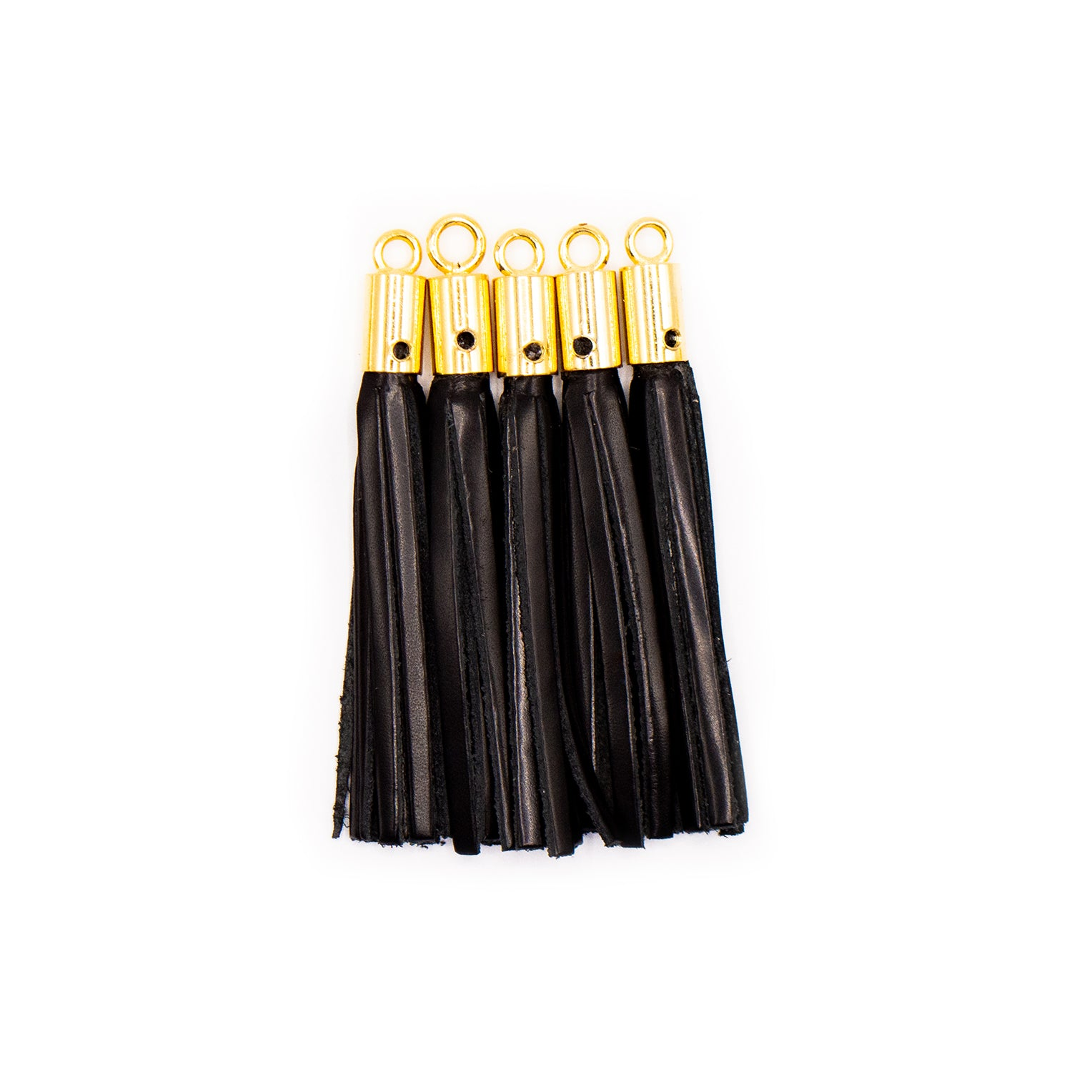 Tassel Shiny Black