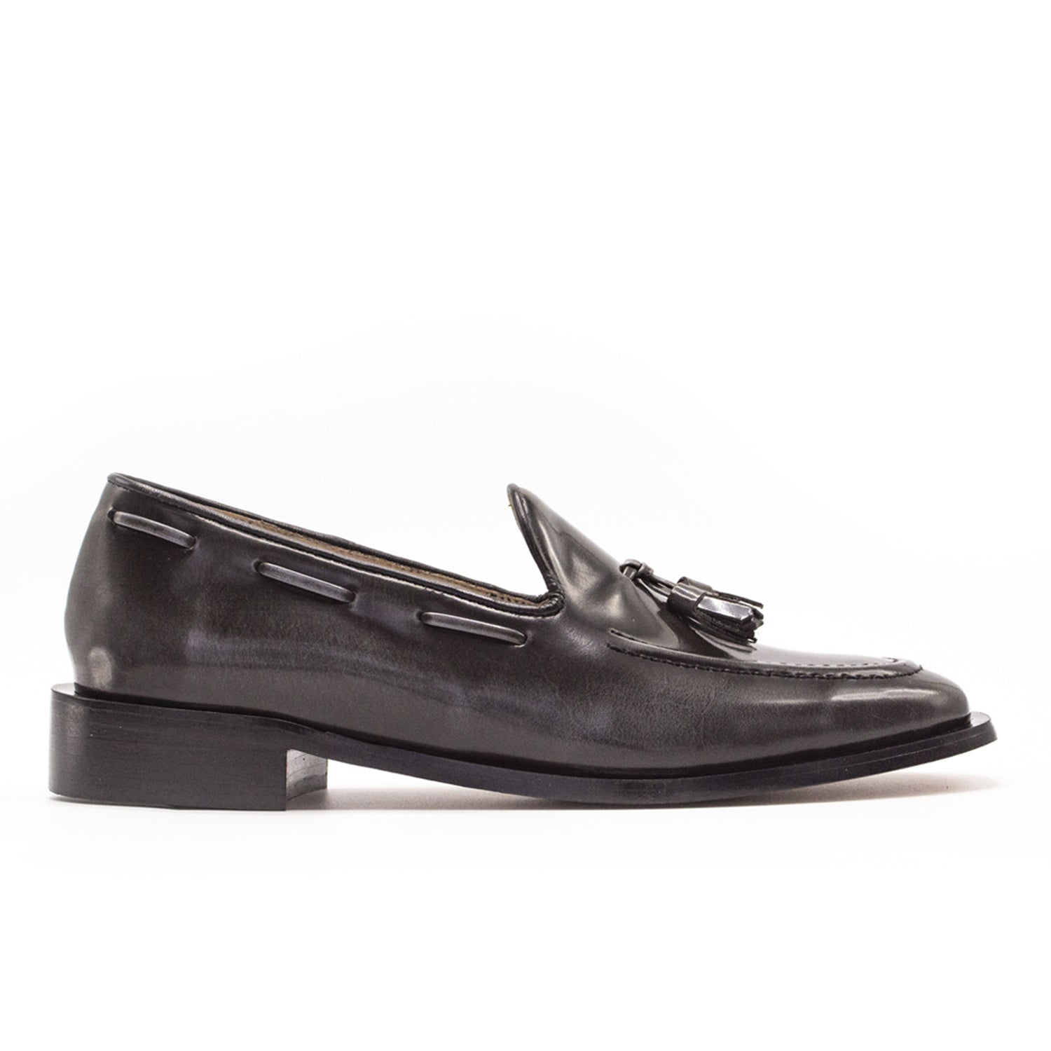 Bright Loafer Shiny Grey