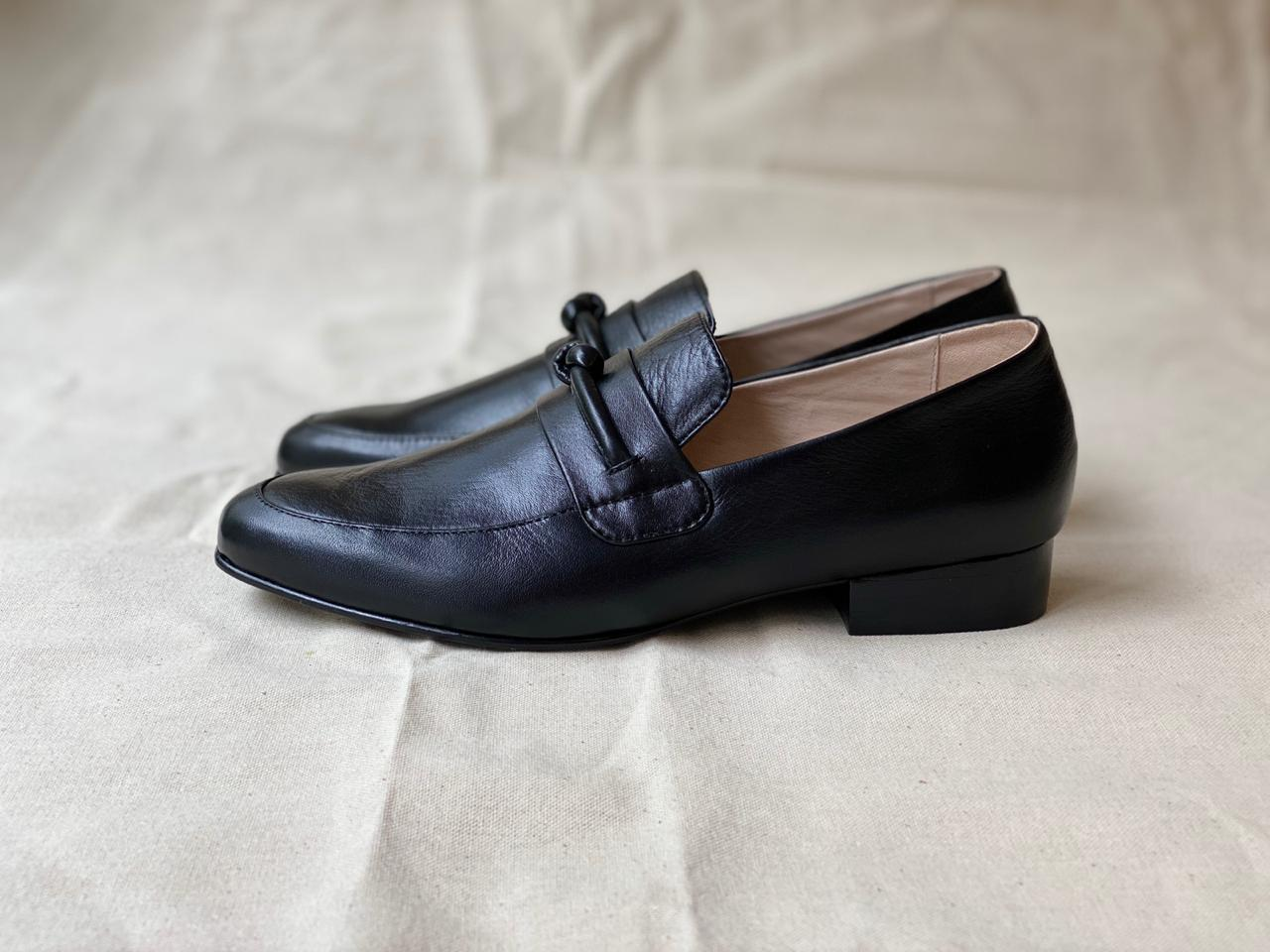 Classic Loafer Knotted Black Talla 37