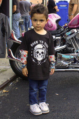 Born to Ride Kid's Tattoo Sleeves
