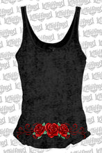 DOD Western Skull Lace Up Tank Top