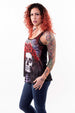 Dark Widow Razor Back Tank Top