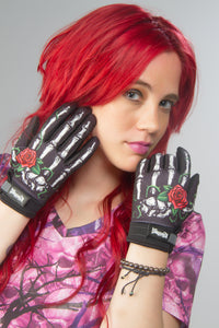 Red Rose Bones Glove