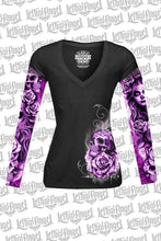 My Nightmare Tattoo Sleeve V Neck Shirt