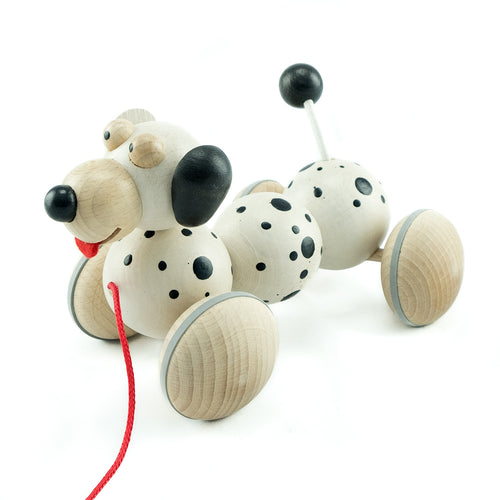 Wiggly Dalmatian - U+ME Wooden Toys