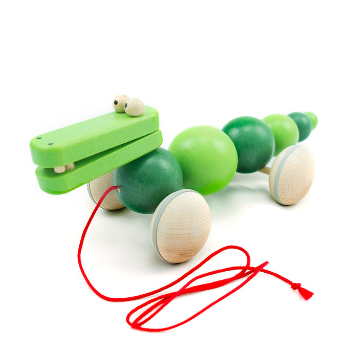 Wiggly Crocodile - U+ME Wooden Toys