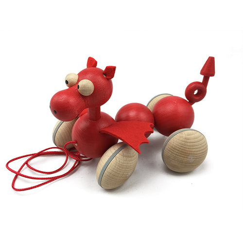Wiggly Welsh Dragon - U+ME Wooden Toys
