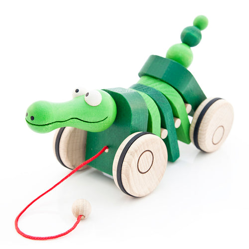 Crocodile Pull Along - U+ME Wooden Toys