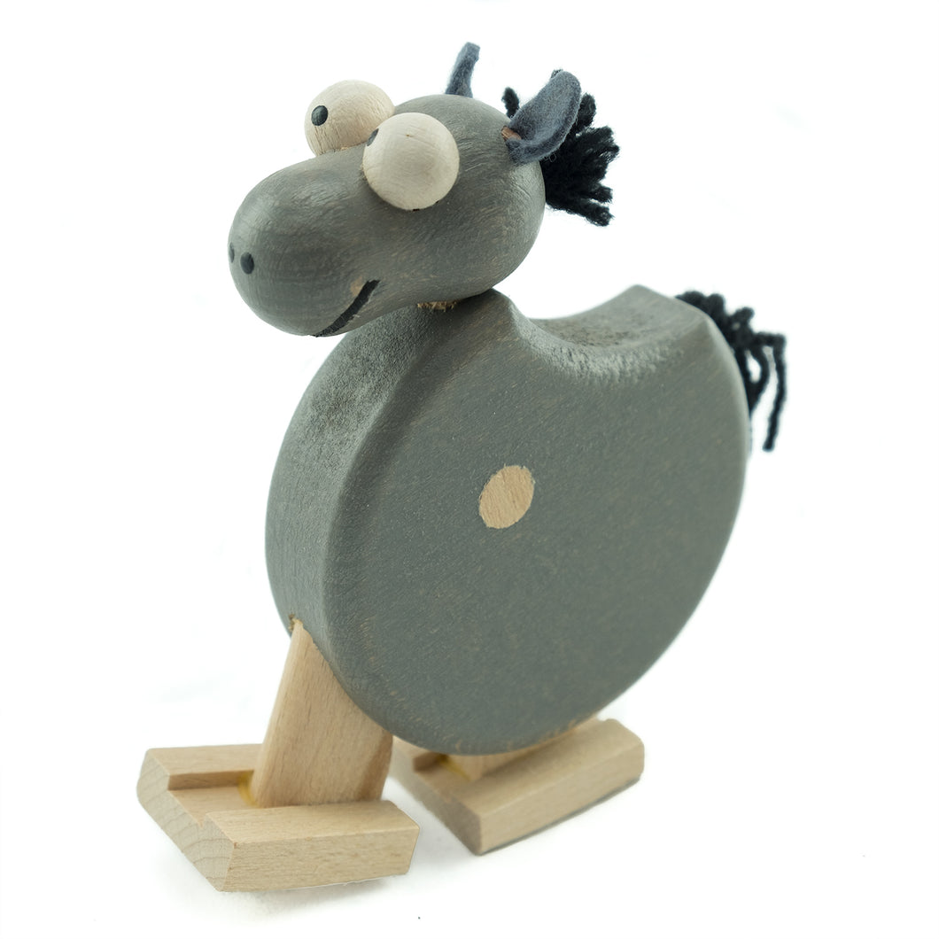 Donkey with Ramp - U+ME Wooden Toys