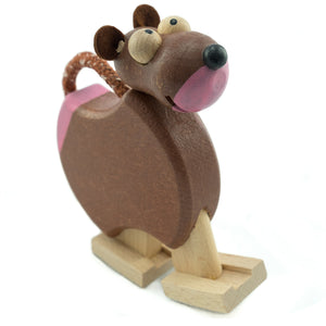 Cheeky Monkey with Ramp - U+ME Wooden Toys