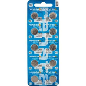 Renata 303 175mAh 1.55V Silver Oxide Button Cell Battery - Watchbatteries