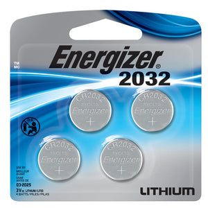 Energizer Lithium 2032, 4 pk - Watchbatteries