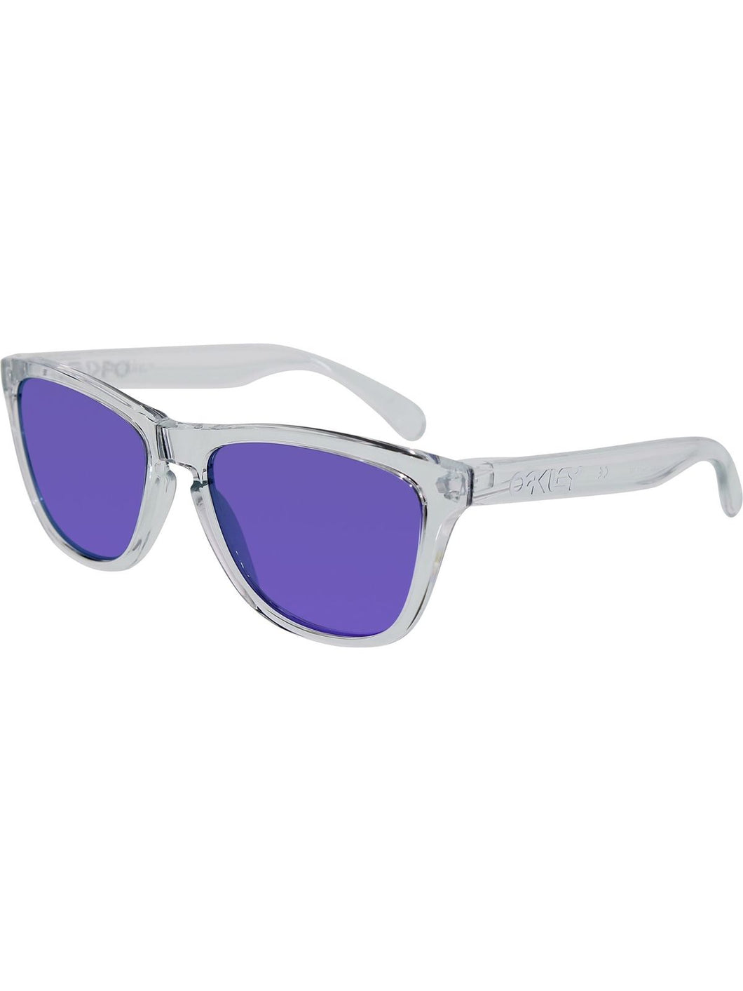 Oakley Sunglasses Unisex 24-305 Frogskins/ Violet Iridium - Watchbatteries