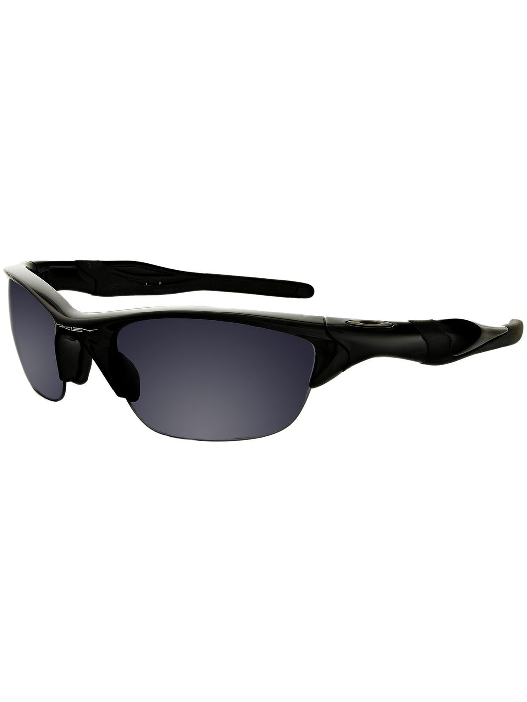 Oakley Sunglasses Mens OO9144-01 Half Jacket 2.0 Polished Black Iridium - Watchbatteries