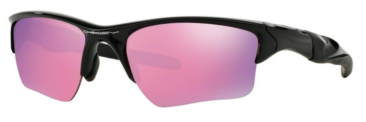 cdb6e843e6 Oakley Mens OO9154-49 Half Jacket 2.0 XL Polished Black Prizm Golf  Sunglasses - Watchbatteries ...